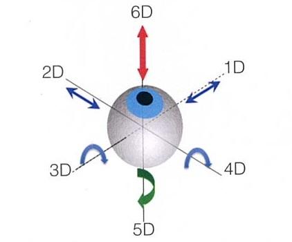 新一代6D+1D眼球追蹤系統